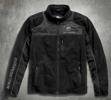 Men's Harley Davidson Skull Windproof Fleece Jacket