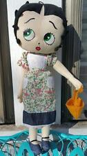 Easter Basket Betty Boop Collectible Plush Figure Stuffed Toy, 2005, with bag