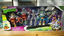 Teenage Mutant Ninja Turtles Fugitoid Metal 5 Pack Dimension X TMNT Set, NEW!