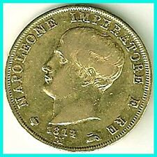 ITALY - 1814 -  M - 40 LIRE GOLD COIN