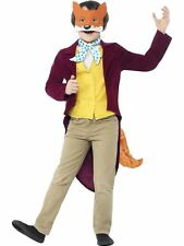 BOYS ROALD DAHL FANTASTIC MR FOX COSTUME ANIMAL BOOK WEEK DAY FANCY DRESS OUTFIT
