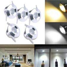 5x 3W LED Recessed Small Cabinet Mini Spot Lamp Ceiling Light White/Warm White