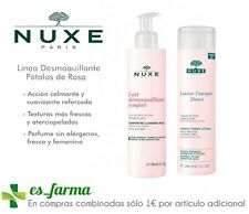 NUXE MAKE-UP REMOVER PETALS ROSAS: MILK COMFORT 200ML LOTION TONIC SUAVE 200ML