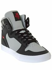 Supra Light Grey-Black-White Vaider Shoe