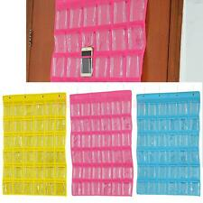 Brooch Closet Display Organizer Hanging Holder 36-Pocket Storage Bag 3 Colors
