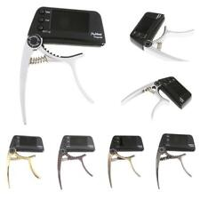 Advanced Electric Quick Change Key Acoustic Electric Violin Guitar Capo Tuner
