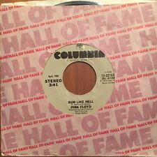"""Pink Floyd - Run Like Hell / Comfortably Numb - 7"""" Single Hall Of Fame The Wall"""