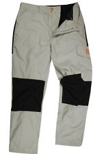 Bear Grylls Craghoppers HIKING/CAMPING CARGO Pants/Trousers BLACK/GRAY Mens SIZE