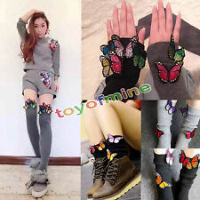 Embroidery Color Butterfly Sew Iron On Patch Badge Bag Clothes Fabric Applique
