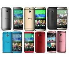 """5.0"""" HTC ONE M8 32GB 4G LTE GSM AT&T Unlocked Smartphone Gold/Grey/Silver W/GIFT"""