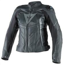 Dainese Lady Avro D1 Leather Jacket Black/Antracite