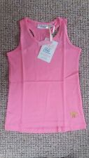 GIRLS PINK TANK VEST TOP, 8-9 AND 10-11 YEARS, BNWT