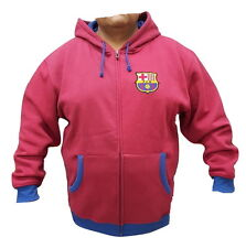 FC Barcelona Hoodie With Zipper New With Tags Official Product by Rhinox