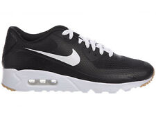 NEW MENS NIKE AIR MAX 90 ULTRA RUNNING SHOES TRAINERS BLACK / WHITE / BLACK