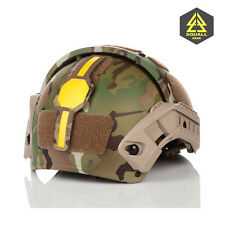 Helmet-Mounted Contrast Yellow  Marker Combat Tactical Recognition IFF Marking