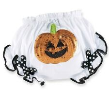 Baby Clothes Mud Pie Girls Halloween Sequin Pumpkin Bloomers