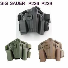 Right Handed Leg Holster For SIG 220/228/229 P226 Tactical Airsoft Drop Leg HOT
