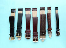 Leather Anti-Allergic Watch Straps,Sizes  6,8,12,14,16,18,20,22,24,26,28,30mm