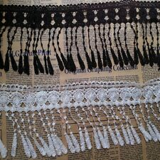 New Flower Tassel Hollow Lace Fringe Applique Costume Sewing Trims Craft DIY