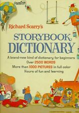 Richard Scarry's Storybook Dictionary QRS (1966, Hardcover)