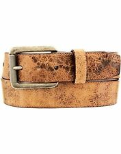 Justin C136 Mens Tailgunner Leather Belt- Choose SZ/Color.