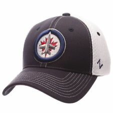 Zephyr Winnipeg Jets Navy/White Rally Spacer Mesh Flex Hat - NHL