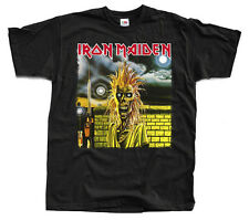 IRON MAIDEN Iron Maiden (first album) ver. 1 T-Shirt (Black) S-5XL