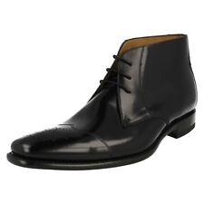 Mens Loake Polished Leather Ankle Boots Venture