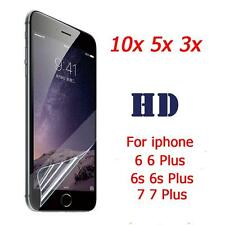 10/5/3Pcs HD Clear Front/Back Screen Protector Film Guard For iphone 6 6s 7 Plus