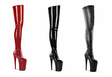 Pleaser Infinity-4000 Thigh High Over Knee Boots Platform Extreme Heels Fetish