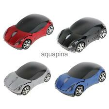 2.4GHz Wireless Mouse Mice Car Shape USB Receiver for Laptop Notebook