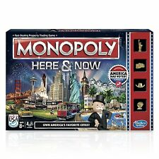 Monopoly Here & Now Game: US Edition - Brand New