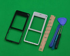 For Nokia 515 Front with Screen Lens Faceplate Front Frame Bezel Cover