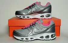 NIKE KIDS AIR MAX TAILWIND 2010 (GS) YOUTH SIZES GREY/PINK NEW IN BOX 454503 003