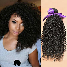 Kinky Curly Brazilian Virgin Hair 100% Human Hair Weave Extensions 1 Bundle 100g