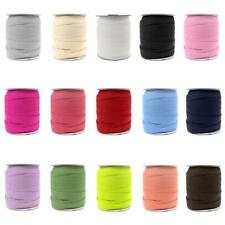 50 Yard Elastic Ribbon Band Rope Cord Webbing Trim for Sewing DIY Crafts 18mm