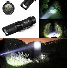 New Mini 5000LM Zoomable CREE XM-L T6 LED Flashlight Torch Super Bright Light T