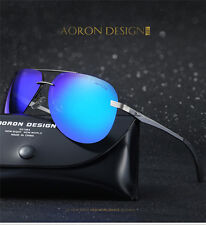Polarized Mens Sunglasses Outdoor Sports Eyewear Driving UV400 Mirrored Glasses