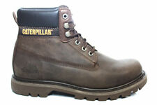Mens Boys Caterpillar Colorado Brown Work Walking Winter Ankle Boots Size 6-12