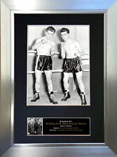 KRAY TWINS Ronnie & Reggie Signed Autograph Mounted Repro Photo A4 Print no611