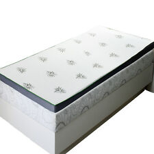 "Queen Abripedic 2.5"" Cool Best Gel Memory Foam Mattress Topper Hypoallergenic"