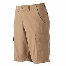 Urban Pipeline Mens Cargo Shorts Cotton Nylon OH Khaki Solid sizes 30 32 NEW