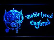 Motorhead LED Neon Sign On/Off rock wall decor gift Room Pub