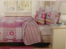 Kids Expressions Elana Butterfly Twin or Full Quilt, Shams, Deco Pillow Set NIP