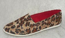 Call It Spring Womens Shoes slip on lumina leopard print sizes 6.5 NEW