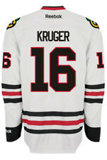 Marcus Kruger Chicago Blackhawks NHL Away Reebok Premier Hockey Jersey
