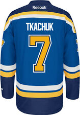 Keith Tkachuk St. Louis Blues Reebok Premier Home Jersey NHL Replica