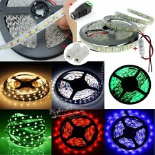 AU 5M 3528 5050 SMD 300Leds LED Flexible Strip Lights Party Decor+Dimmer+DC 12V