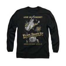Elvis Presley Live In Buffalo Adult Long Sleeve T-Shirt