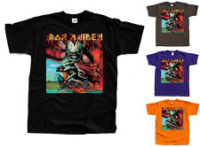 IRON MAIDEN Virtual XI T-Shirt (Black, brown, purple, orange) S-5XL